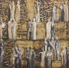 Untitled, acrylic on canvas, 2012