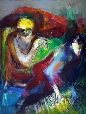 Syrian artist Obaidah Zorik