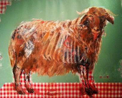 Syrian artist Khaled Al Hamwi