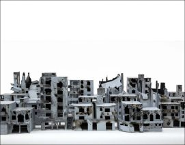 Missing Sky. Stop Motion Film. Bissane Al Charif and Mohamad Omran. Syria - 2014